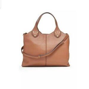 Banana Republic Genuine Leather Carryall Bag
